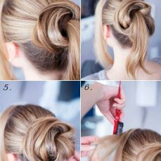 Updo hairstyles 23