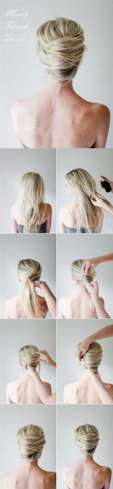 Updo hairstyles 24