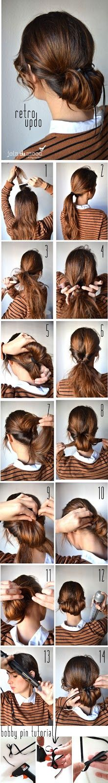 Updo hairstyles 29