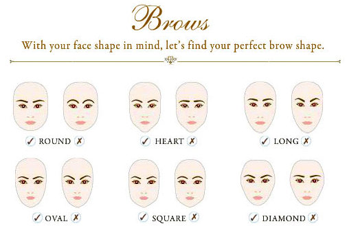 Different ways to fill in eyebrows 05