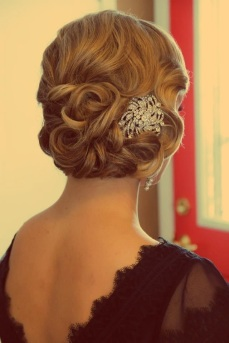 Indian bridal hairstyles updo's 13