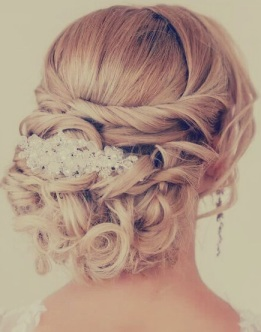 Indian bridal hairstyles updo's 20