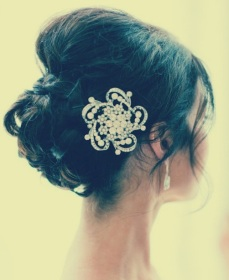 Indian bridal hairstyles updo's 24