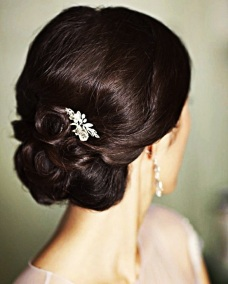 Indian bridal hairstyles updo's 28