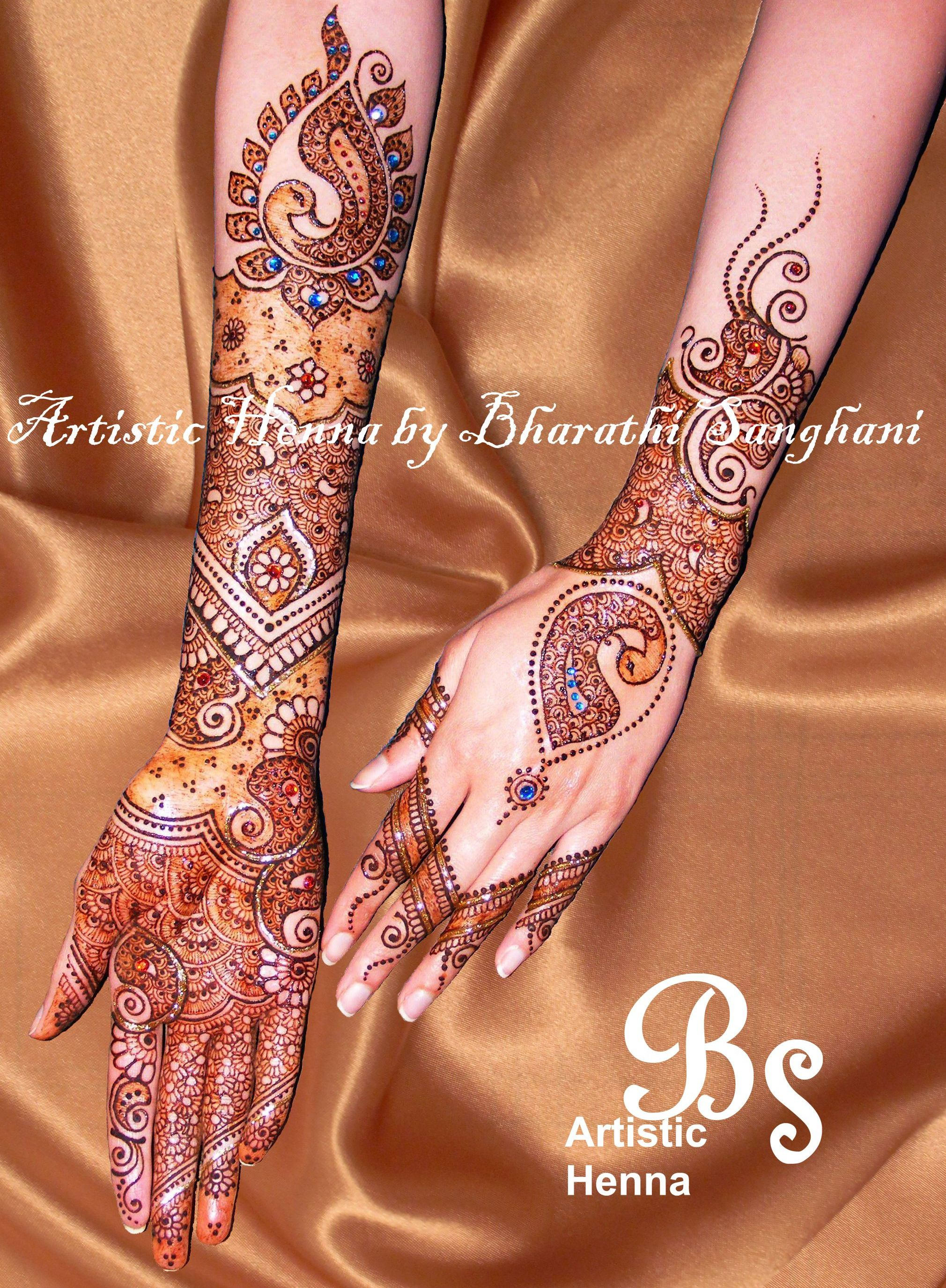 mehandi designs by bharathi 01 indian makeup and beauty