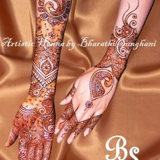 Mehandi designs by Bharathi 01