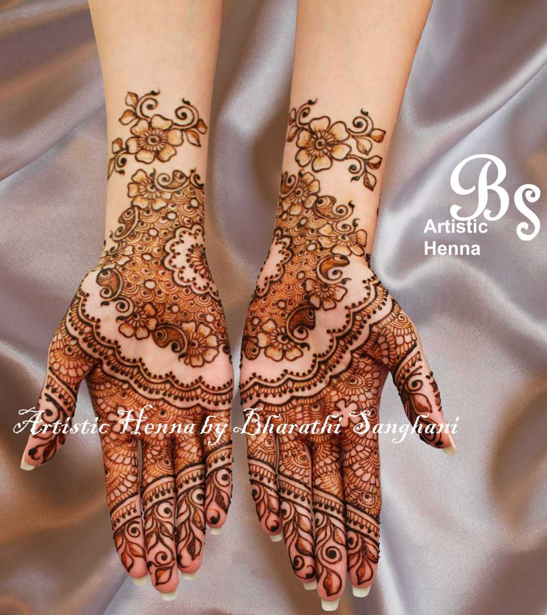 mehandi designs by bharathi 03 indian makeup and beauty