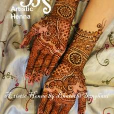 Mehandi designs by Bharathi 05