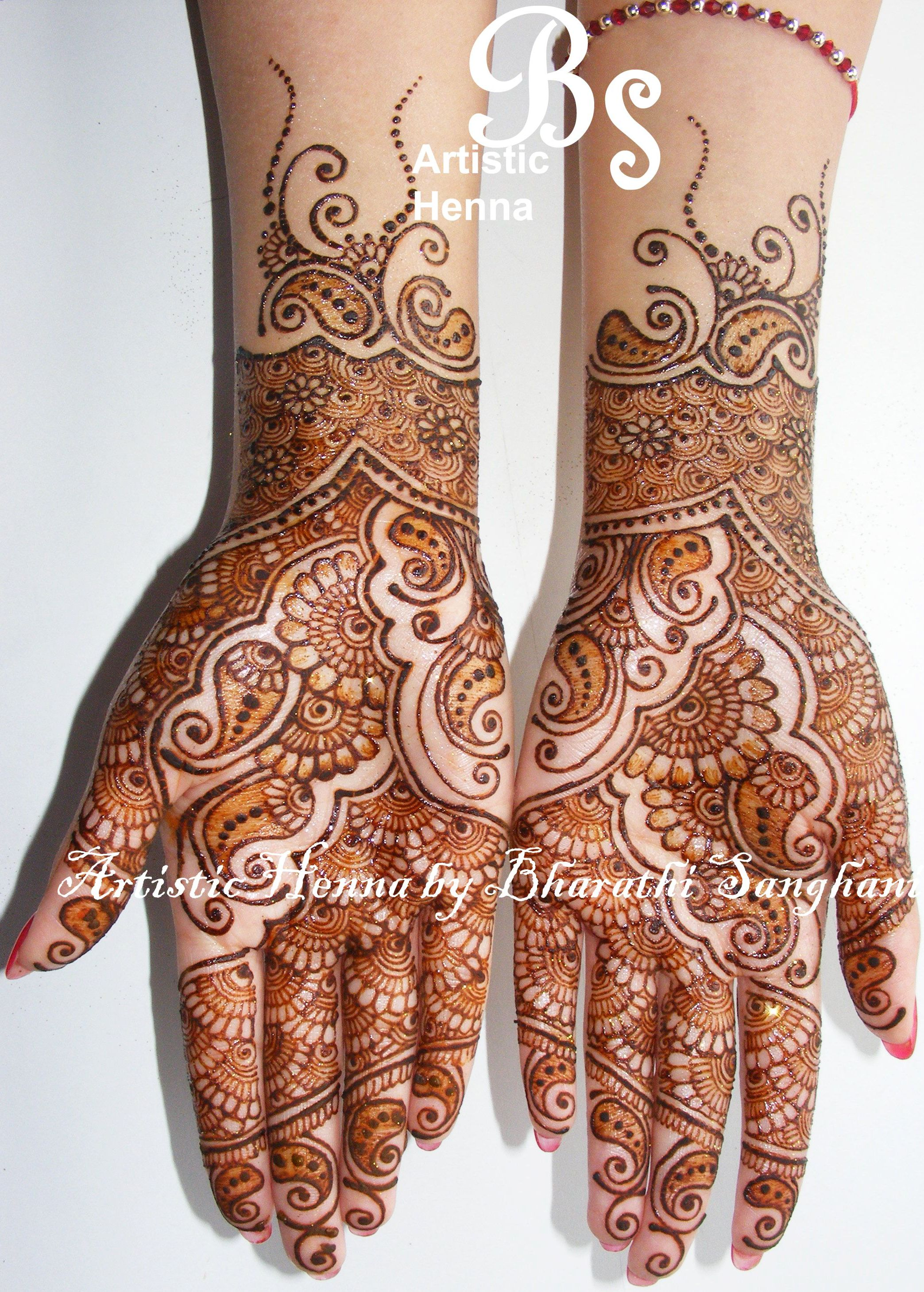 Mehandi designs by Bharathi 07 : Indian Makeup and Beauty ...