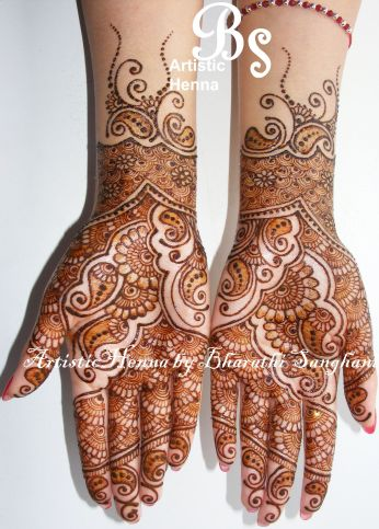 mehandi designs by bharathi sanghani indian makeup and beauty blog