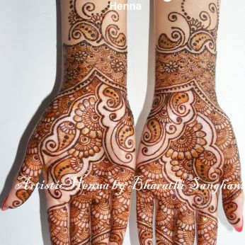 Mehandi designs by Bharathi 07