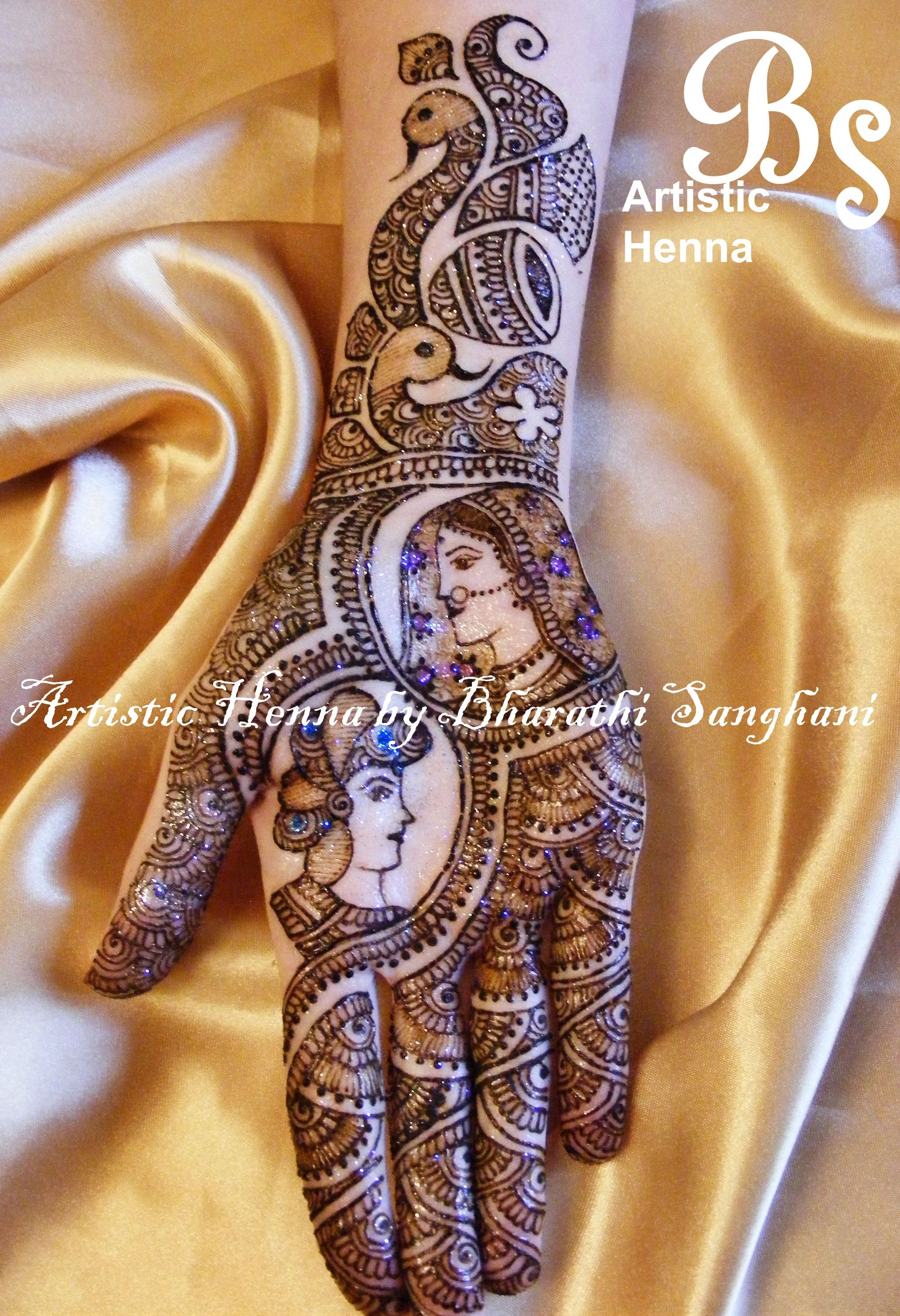 Mehandi Designs By Bharathi 08 Indian Makeup And Beauty
