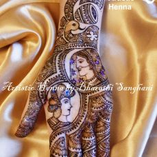 Mehandi designs by Bharathi 08