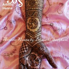 Mehandi designs by Bharathi 10