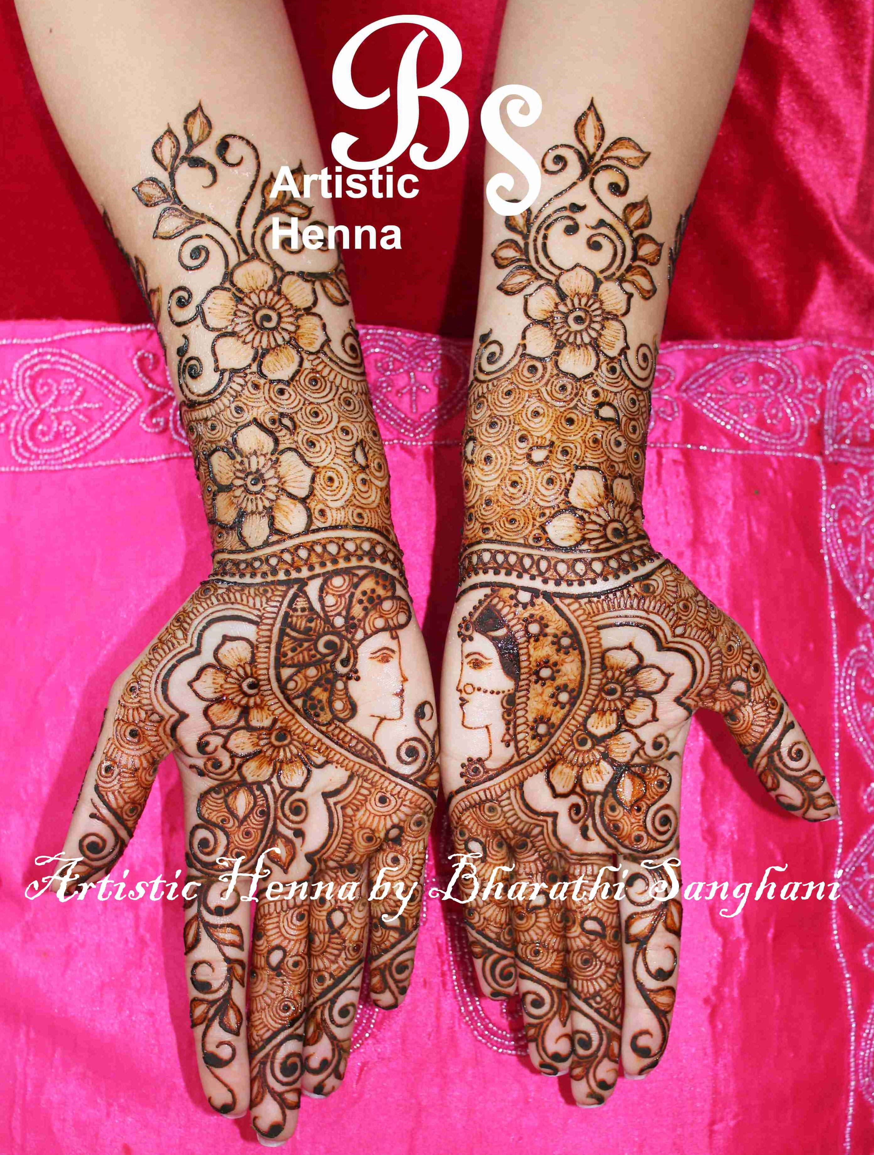 mehandi designs by bharathi 11 indian makeup and beauty