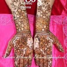 Mehandi designs by Bharathi 11