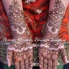 Mehandi designs by Bharathi 12