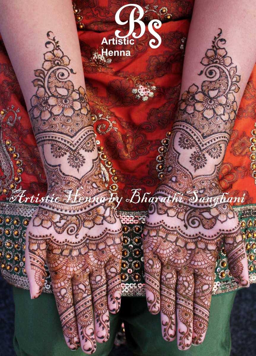 mehandi designs by bharathi 12 indian makeup and beauty