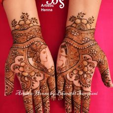 Mehandi designs by Bharathi 14