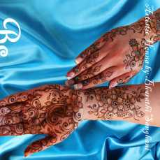 Mehandi designs by Bharathi 17