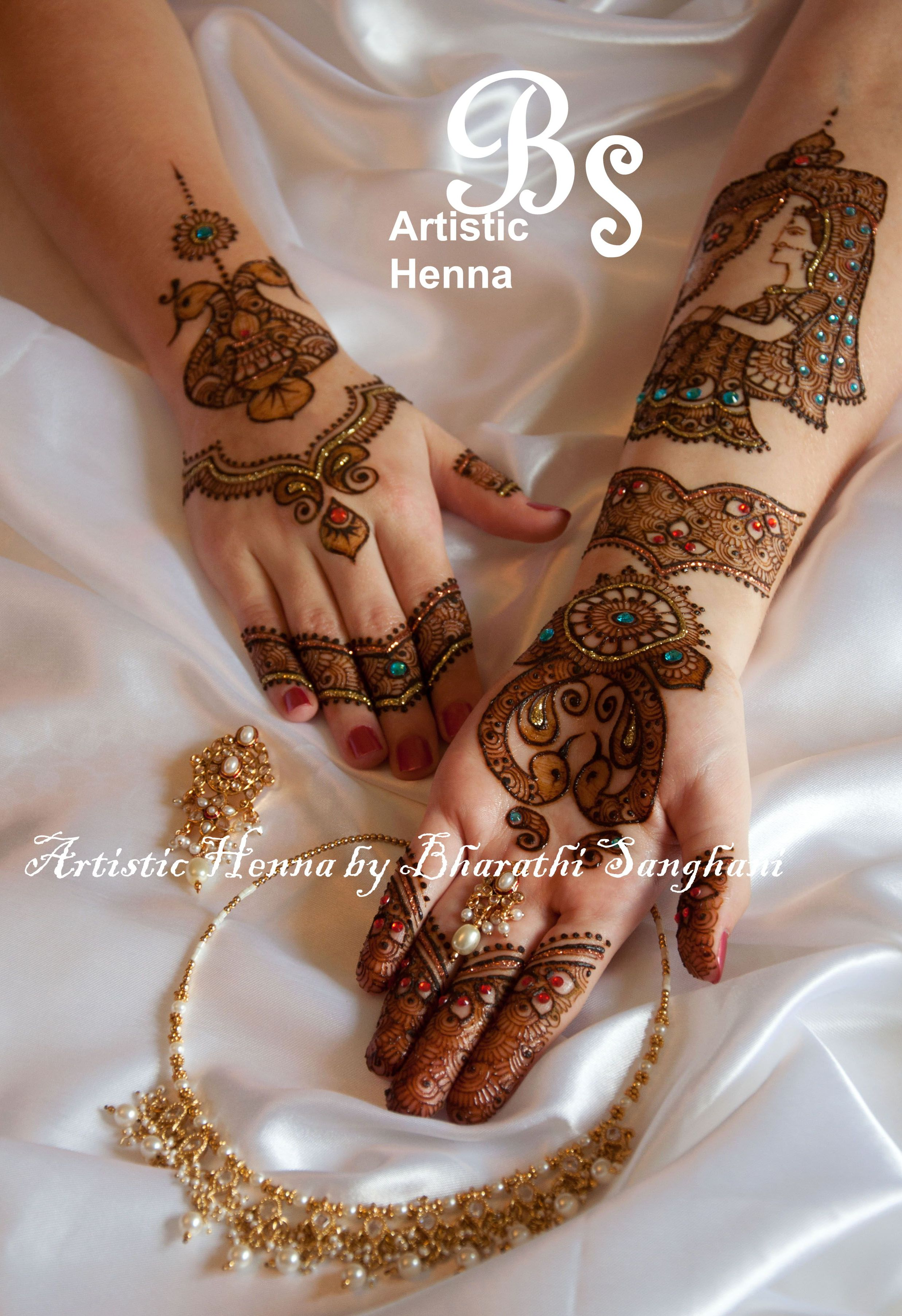 mehandi designs by bharathi 18 indian makeup and beauty