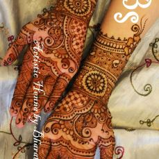 Mehandi designs by Bharathi 19