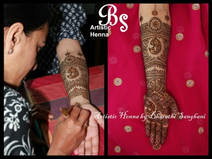 Mehandi designs by Bharathi 21