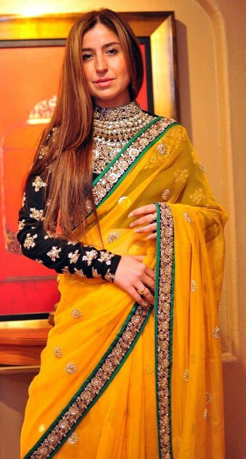 Bollywood celebrity designer sarees