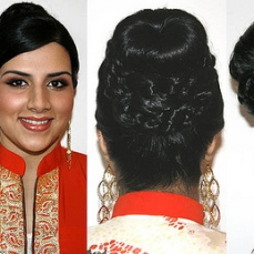 Bridal hairstyles buns 05