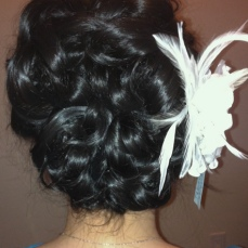 Bridal hairstyles buns 6