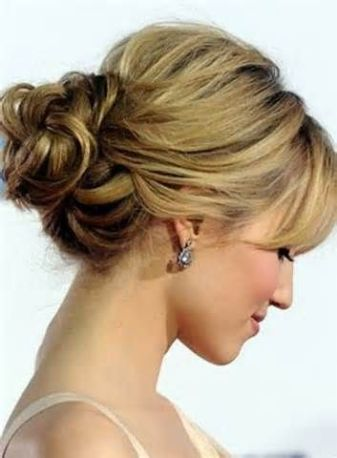 Bridal hairstyles buns 09