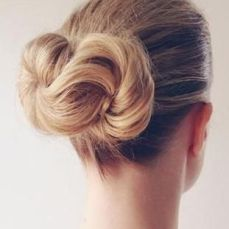 Bridal hairstyles buns 12