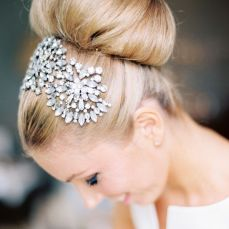 Bridal hairstyles buns 13