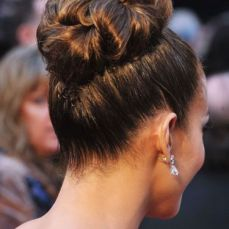 Bridal hairstyles buns 14