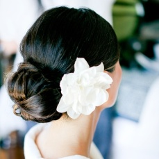 Bridal hairstyles buns 15