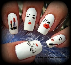 Cute nail art designs 11