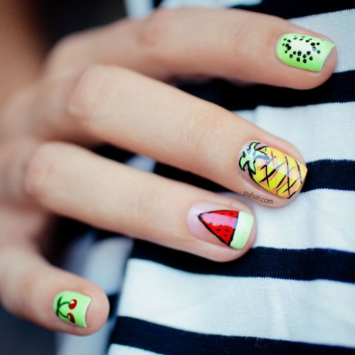 Cute nail art designs 21