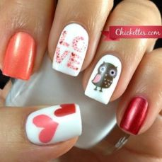 Cute nail art designs 24