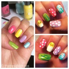 Cute nail art designs 27