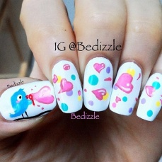 Cute nail art designs 35