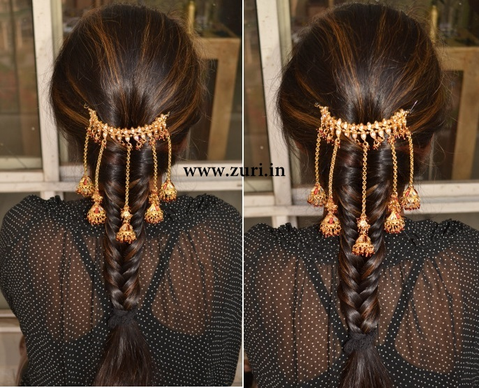 Indian bridal hairstyles 01