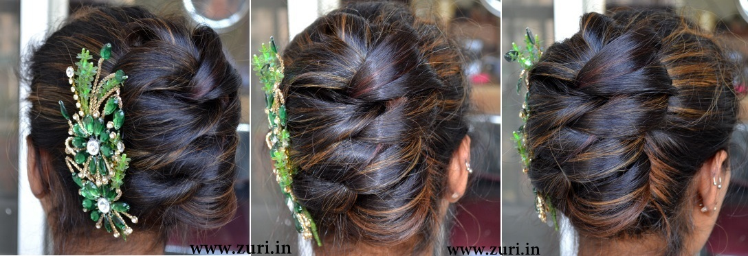 16 Ethinic Indian bridal hairstyles | Indian Makeup and ...