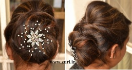 Indian bridal hairstyles 04