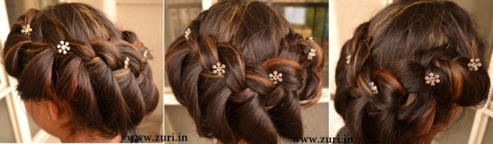 Indian bridal hairstyles 05