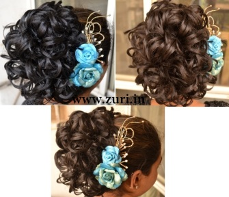 Indian bridal hairstyles 07