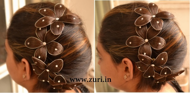 Indian Bridal Hairstyles 08 Indian Makeup And Beauty Blog Beauty