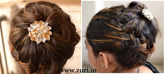 Indian bridal hairstyles 09