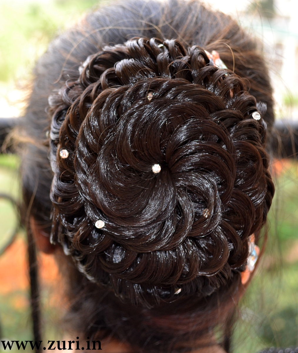 Indian bridal hairstyles 10