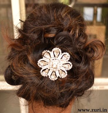 Indian bridal hairstyles 11