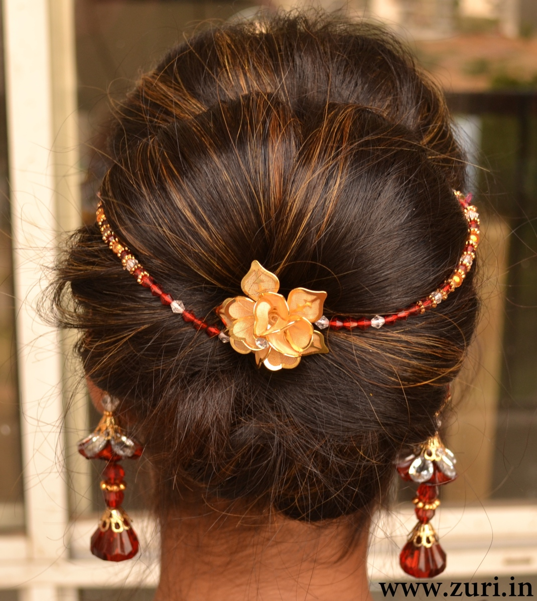 Indian bridal hairstyles 12